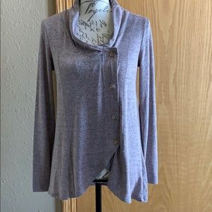 NWT Maurices asymmetrical SOFT tunic top